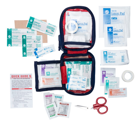 Interior view of the Day Hike First Aid Kit