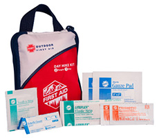 Front view of the Day Hike First Aid Kit