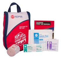 Front view of the Multiday First Aid Kit