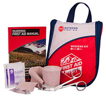 Front view of the Weekend First Aid Kit
